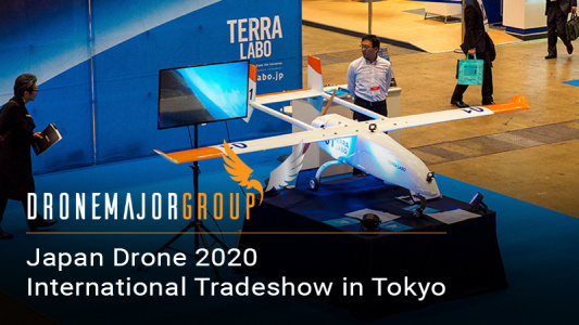 JAPAN DRONE 2020 (International Tradeshow in Tokyo)