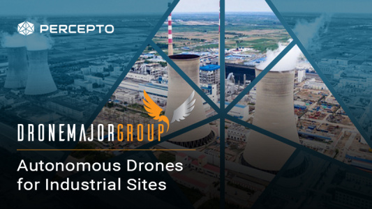 AUTONOMOUS DRONES FOR INDUSTRIAL SITES