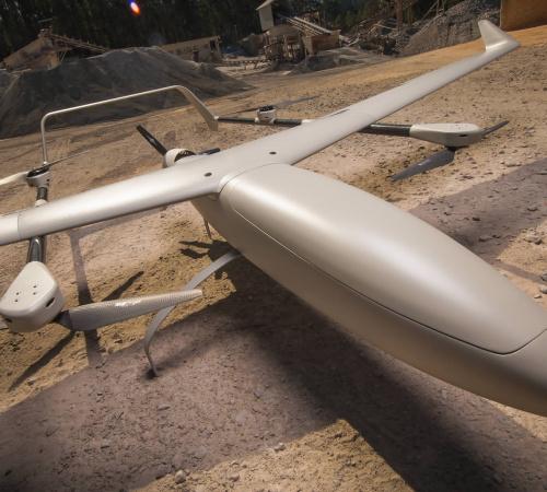 ALTI UAV VTOL - Transition