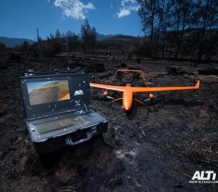 ALTI UAV SAR fixed wing UAS