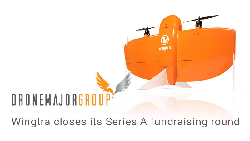 wingtra series a funding closes with 10m USD image for editorial