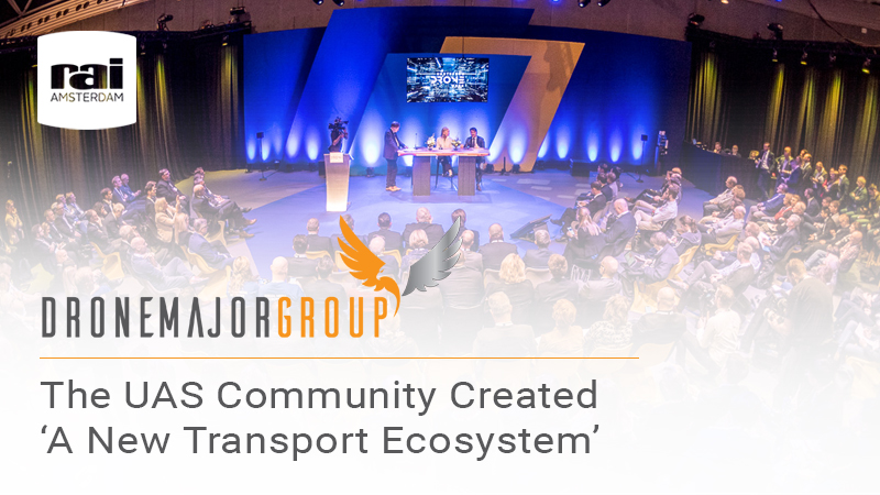 The UAS community created 'a new transport ecosystem' at Amsterdam Drone Week