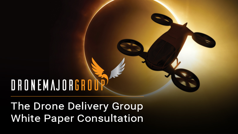 DRONE DELIVERY WHITE PAPER SOCIAL MEDIA RELEASE